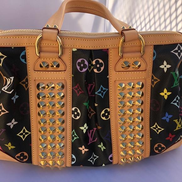 99b543faa66de Louis Vuitton Handbags - Louis Vuitton Courtney Studded Multi-Color MM Hand